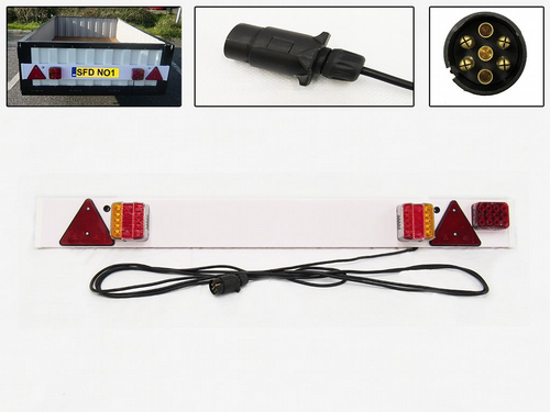 Trailer Boards & Fittings (LED, Standard)
